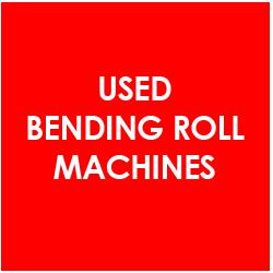 Used Bending Rolls